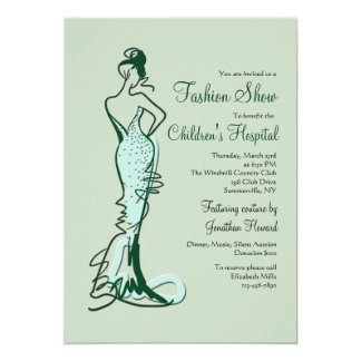 Fashion Show Cards Zazzle