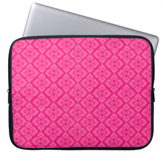 Couture inspired hot pink 15 inch laptop case