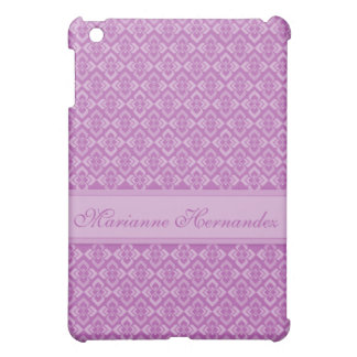 Couture inspired patterned lillac/mauve ipad case