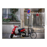 couture vélo rouge – Postcards from Paris9 Greeting Cards