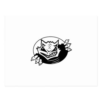 Cove Horned Frogs Postcard