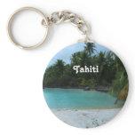 Cove in Tahiti Keychain