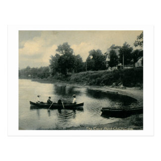 Cove, Point Chautauqa, New York Vintage Postcard