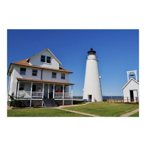 Cove Point Lighthouse Poster