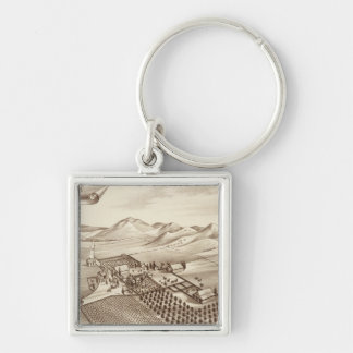 Cove Ranch, Tulare Co, Cal Keychains
