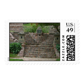 Covell Lake Stone Steps Sioux Falls SD stamps