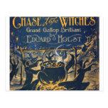 coven de las brujas postales