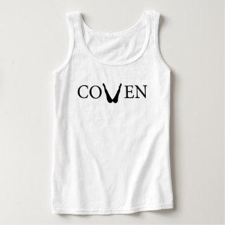 Coven tank in white