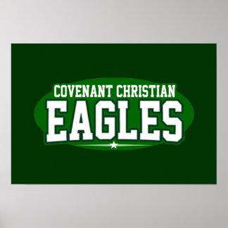 Covenant Christian; Eagles Print