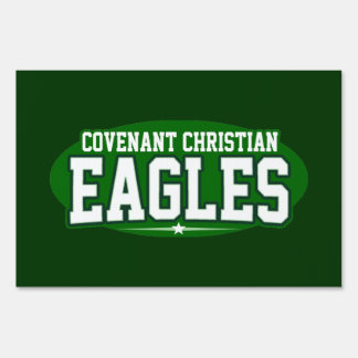 Covenant Christian; Eagles Sign