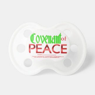 Covenant of Peace - Isaiah 54:10 Pacifier