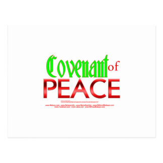 Covenant of Peace - Isaiah 54:10 Postcard
