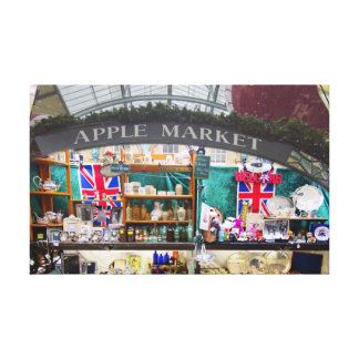 Covent Garden Apple Market Canvas Print