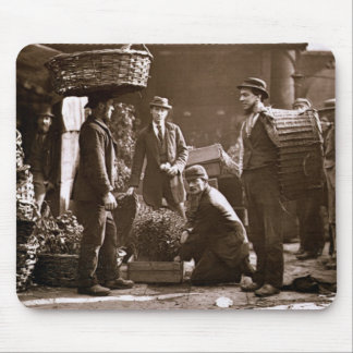 Covent Garden Labourers (woodburytype) Mouse Pad