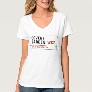 Covent Garden, London Street Sign Shirt