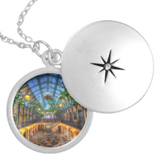 Covent Garden London View Locket Necklace