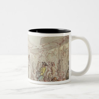 Covent Garden Market, c.1795-1810 (pen and ink, w/ Two-Tone Coffee Mug