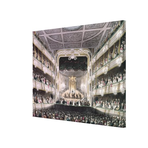 Covent Garden Theatre Gallery Wrap Canvas