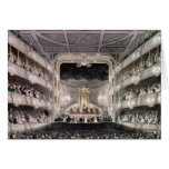 Covent Garden Theatre Greeting Cards