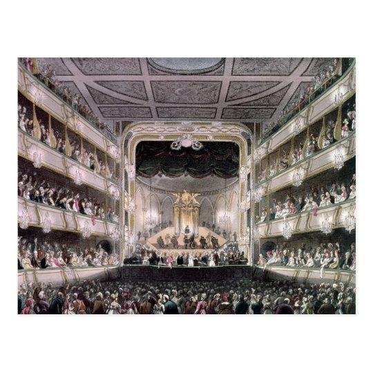 Covent Garden Theatre Postcard