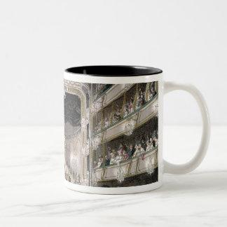 Covent Garden Theatre Two-Tone Coffee Mug
