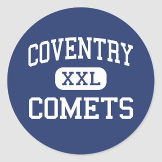 Coventry - Comets - High School - Akron Ohio Classic Round Sticker