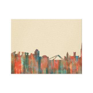 Coventry England Skyline-Navaho Canvas Print