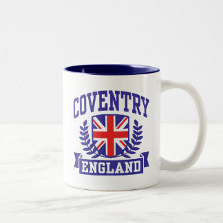 Coventry England Two-Tone Coffee Mug