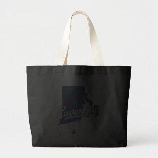 Coventry Rhode Island RI Shirt Canvas Bags