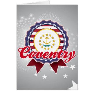 Coventry, RI Card