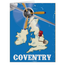 Coventry vintage travel poster