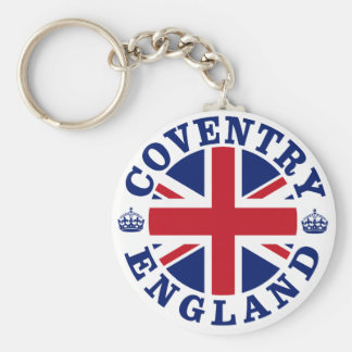 Coventry Vintage UK Design Keychain