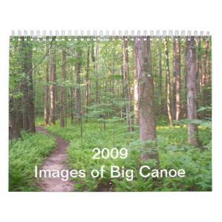 Cover, 2009  Images of Big Canoe Calendar