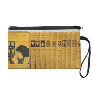 Cover and spine designs for 'The Yellow Book', Vol Wristlets