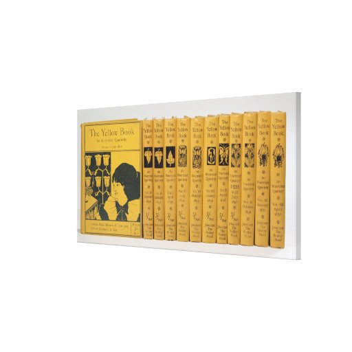 Yellow Book Cover Design : Cover and spine designs for the yellow book vol canvas