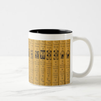 Cover and spine designs for 'The Yellow Book', Vol Two-Tone Coffee Mug