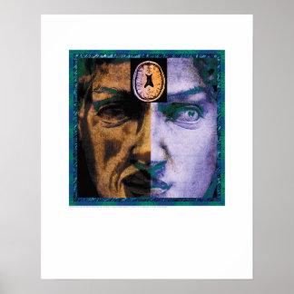 Cover Art - Face of Schizophrenia - Griego Poster