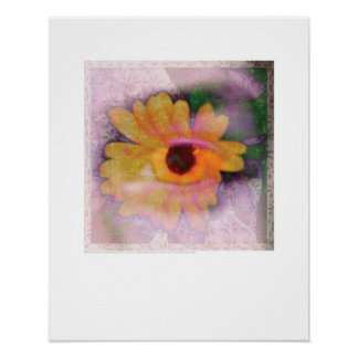 Cover art - Flower and Iris - Griego Poster