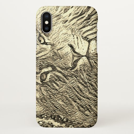 Cover / Case iPhone Lion and Nature