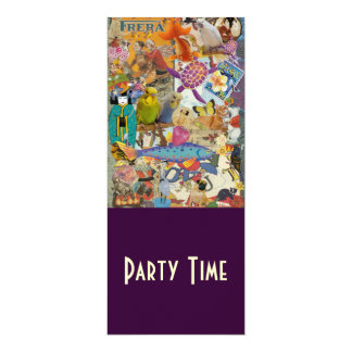 Cover Collage 2010, Party Time Invitations