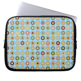 Cover for Parterre laptop of flowers Laptop Sleeve