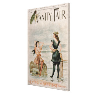 Cover for 'Vanity Fair', September 1896 (colour li Canvas Print