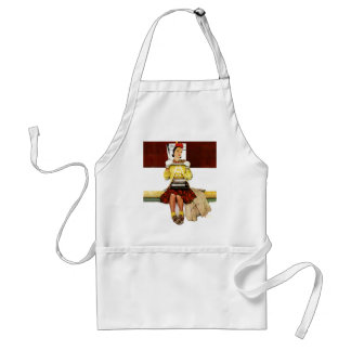 Cover Girl Adult Apron