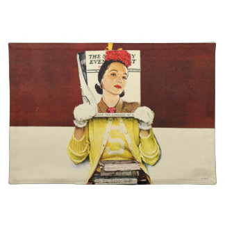 Cover Girl Cloth Placemat