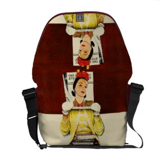 Cover Girl Courier Bag