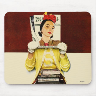Cover Girl Mouse Pad