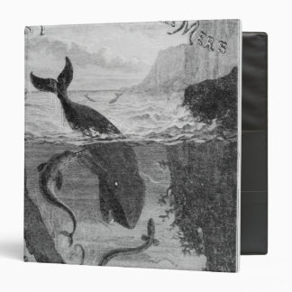 Cover Illustration '20,000 Leagues Under the Sea' Vinyl Binders
