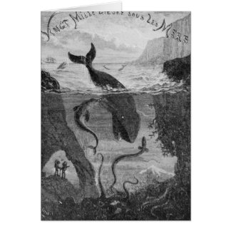 Cover Illustration '20,000 Leagues Under the Sea' Greeting Card