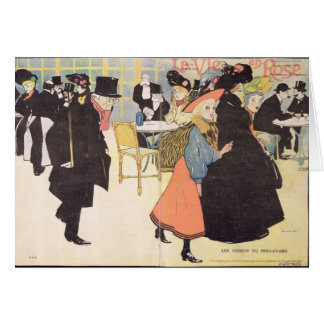 Cover illustration for 'La Vie en Rose', 1903 (col Card