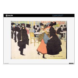 Cover illustration for 'La Vie en Rose', 1903 (col Laptop Decal